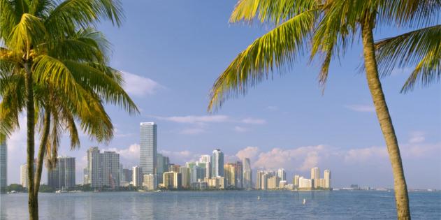 Miami in Florida in den USA