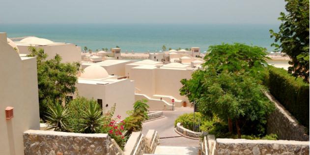 Ausblick in Ras al Khaimah