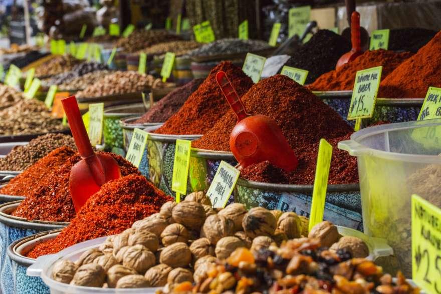 Türkischer Gewürzmarkt