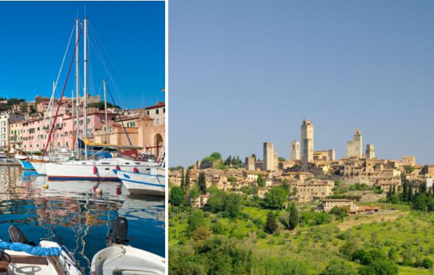 Die Toskana: Italien