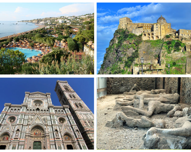 Süditalien und Pompeji