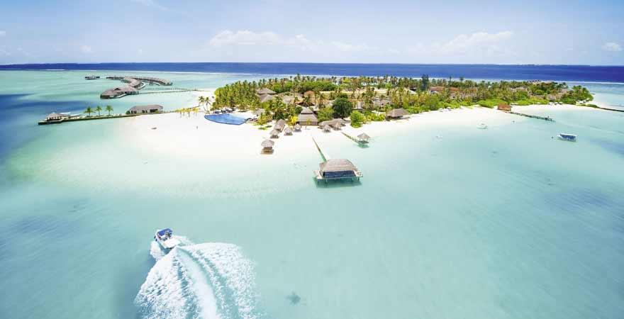 Anreise mit einem Wasserflugzeug auf die Malediven