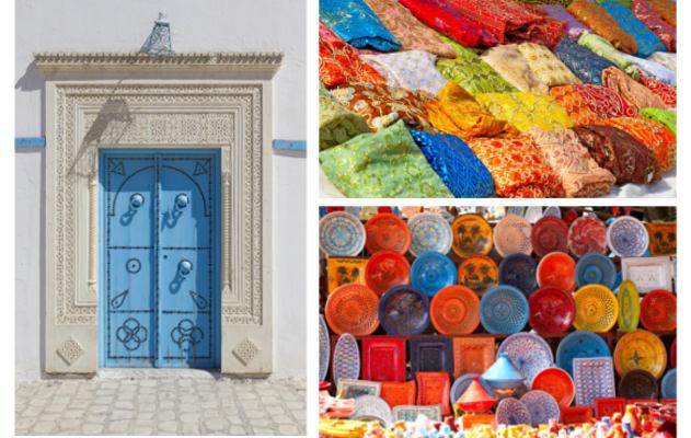 Impressionen von Tunis in Tunesien