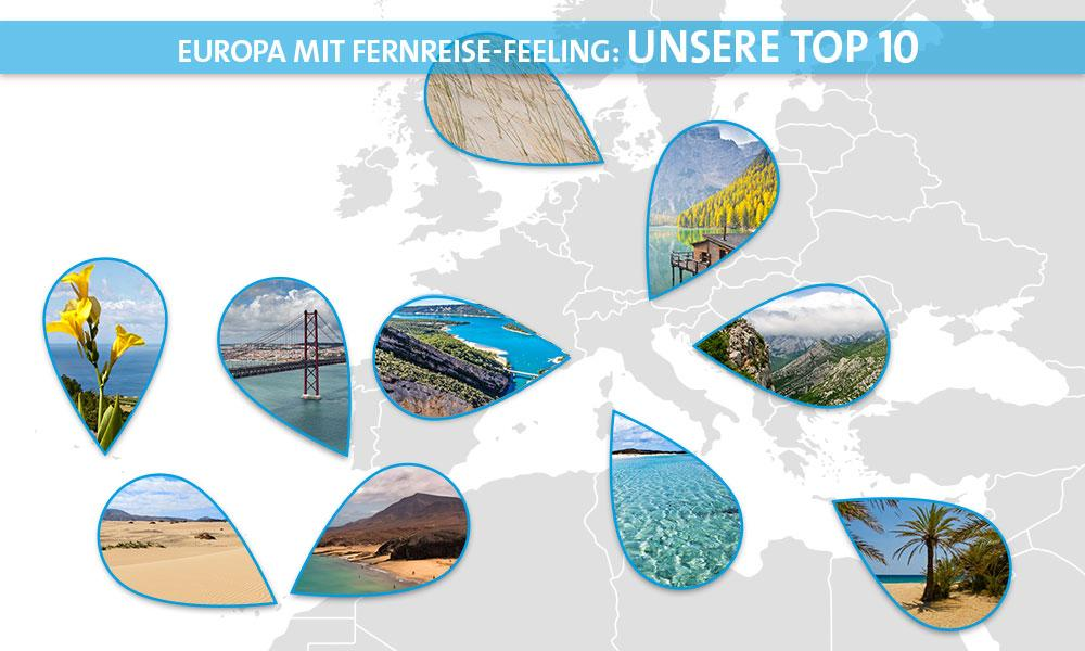 Fernreisefeeling Europa