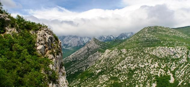 Nationalpark Paklenica in Dalamatien in Kroatien
