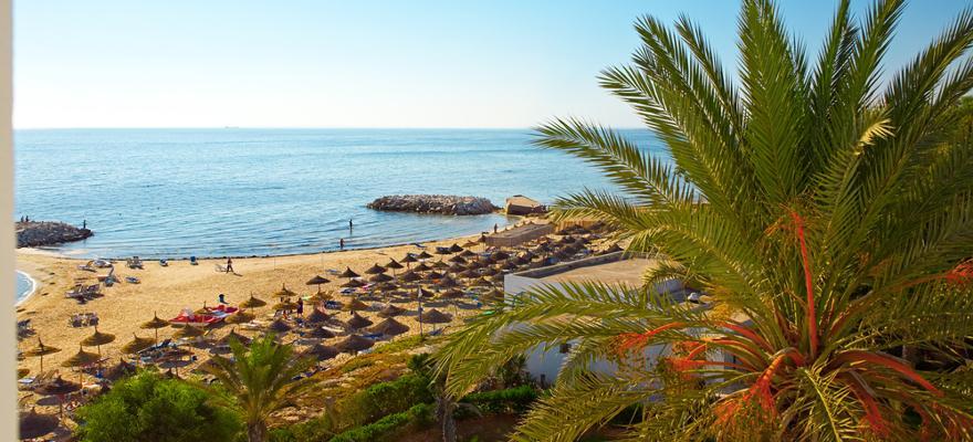 Strand in Tunesien