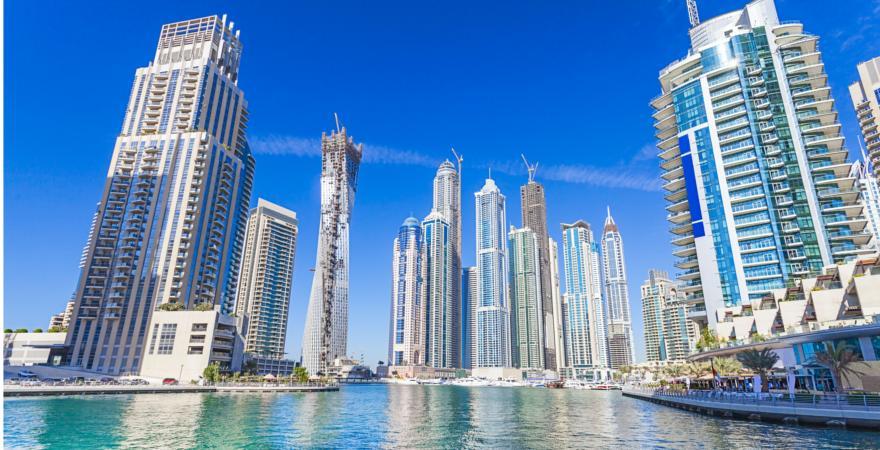 Dubai in den VAE
