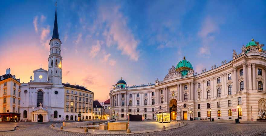 Michaelsplatz in Wien