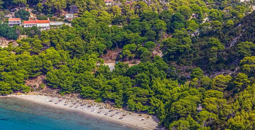 Saplunara in Kroatien