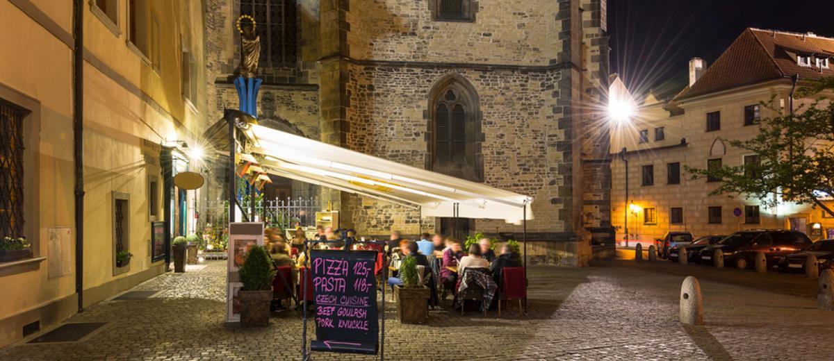 Restaurant in Prag