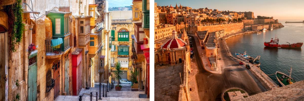 Urlaub in Malta: Valletta