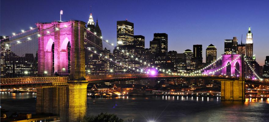 Brookly Bridge bei der New York Städtereise
