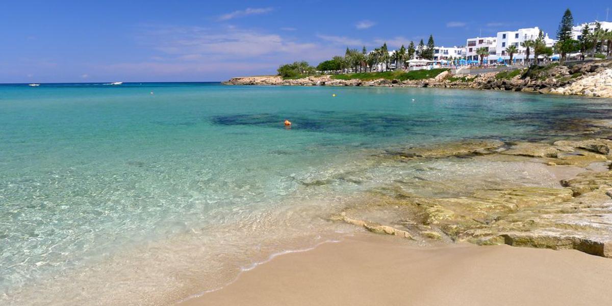 Strand auf Zypern