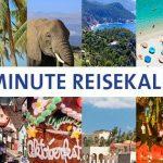 Reisekalender: wann wohin in den Urlaub