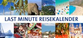 Last Minute Reisekalender: Wann, wohin in den Urlaub?