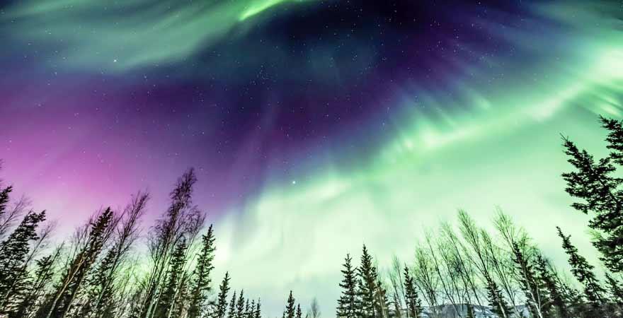 Nordlichter in Alaska