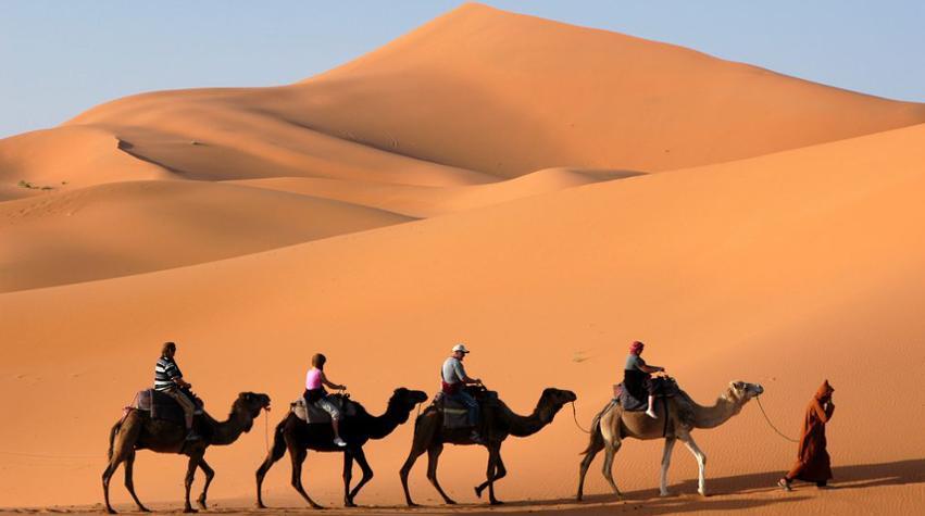 Kamelsafari in Marokko
