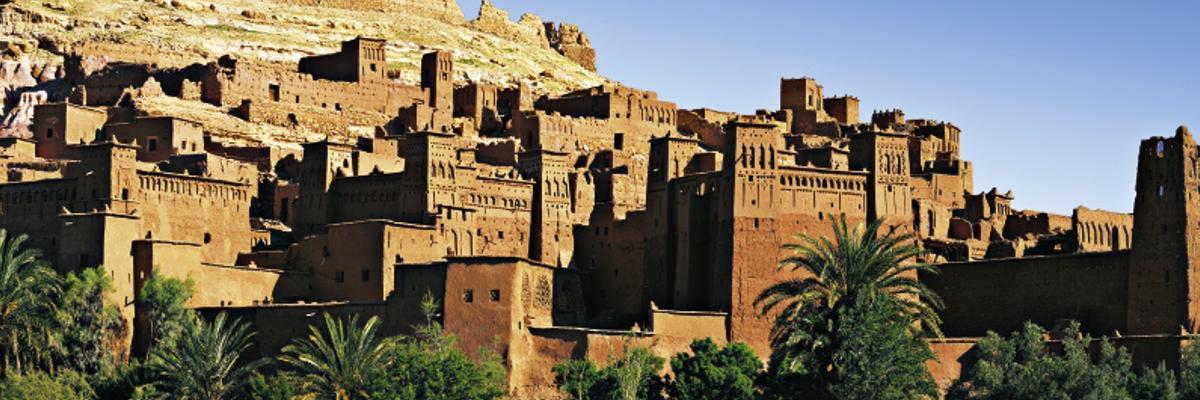 Die Festung von Ouarzazate