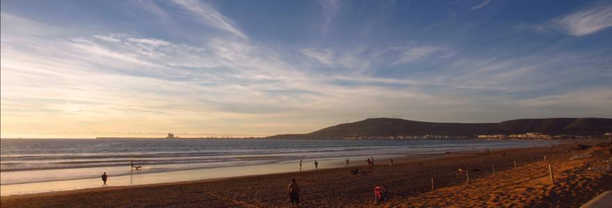 Agadir Strandurlaub Marokko