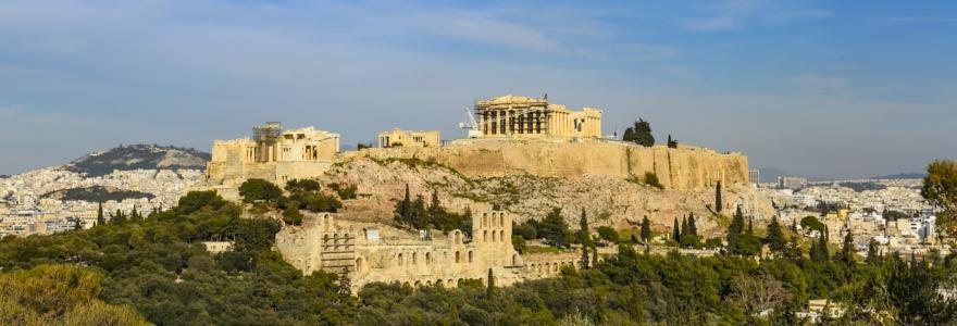 Akropolis in Athen in Griechenland