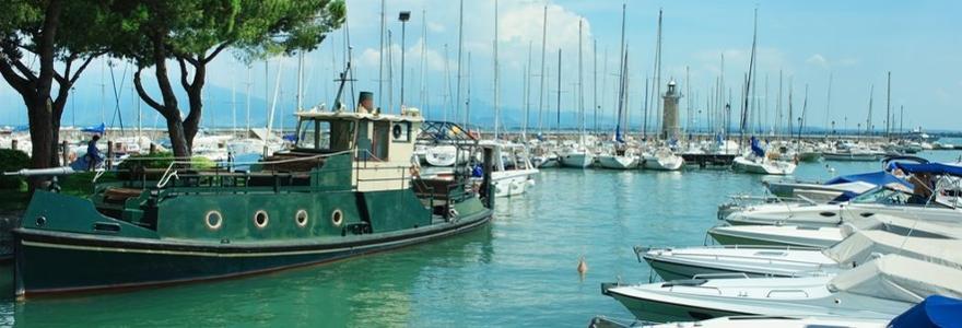 Gardasee Hafen Desenzano