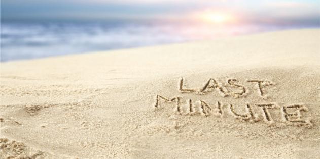 Spontan ganz weit weg: Last-Minute in die Ferne