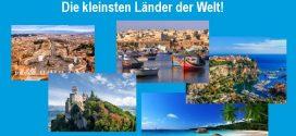 Urlaub in den kleinsten Ländern der Welt