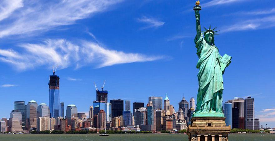 Freiheitsstatue in New York in den USA