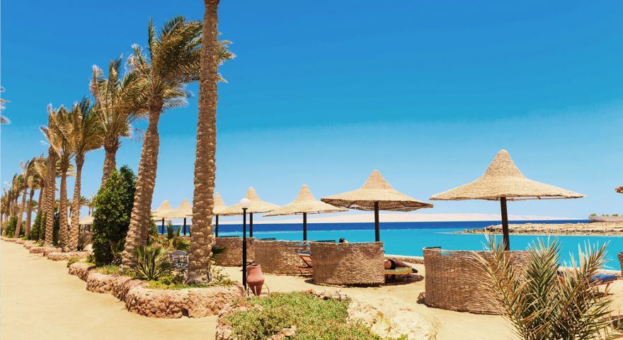 Strand in El Gouna