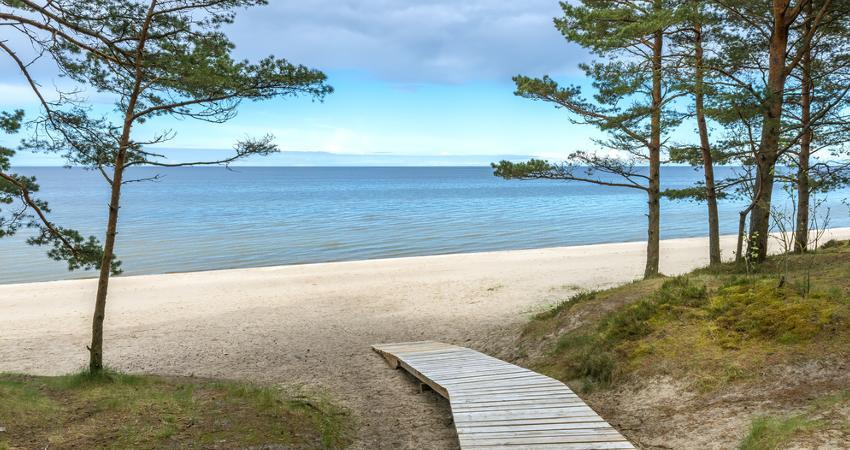 Strand an der Ostsee in Riga