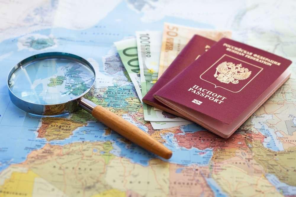 Landkarte und Geld