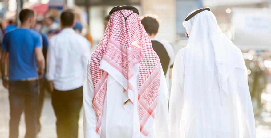 Traditionelle Kleidung Dubai