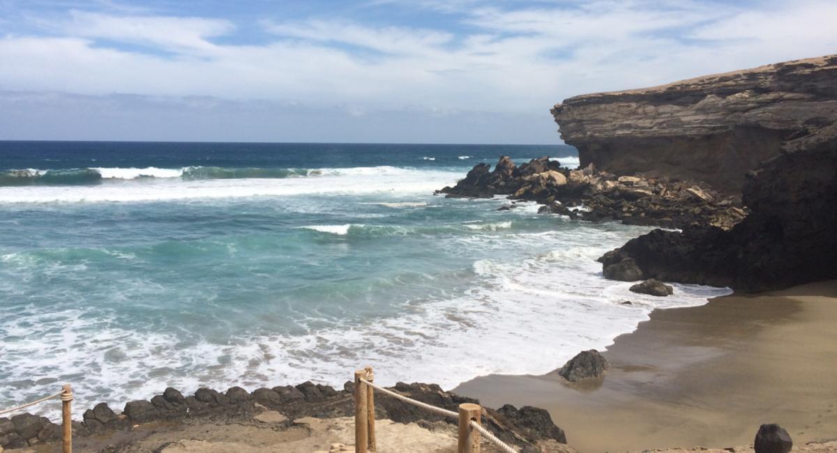 La Pared - ein einsamer Strand auf Fuerteventura