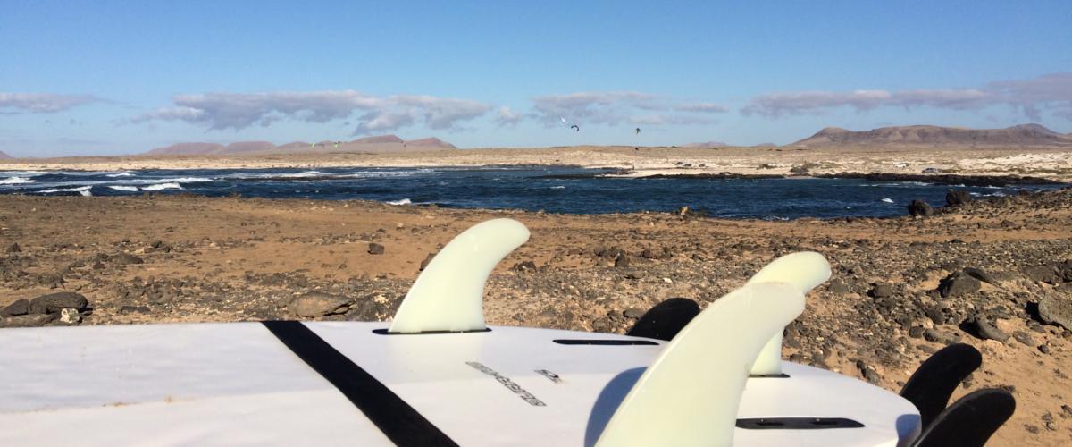 Surfen auf Fuerteventura
