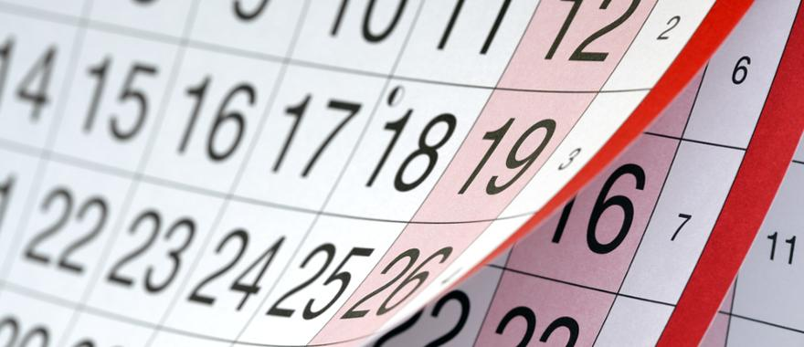 Kalender Urlaubsplanung