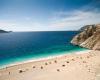 Strand an der türkischen Riviera