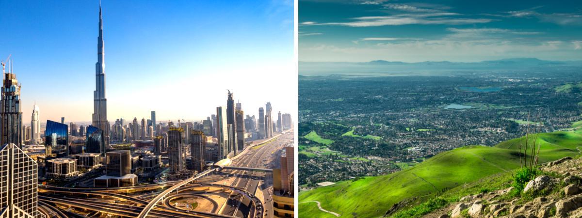 Dubai und Silicon Valley