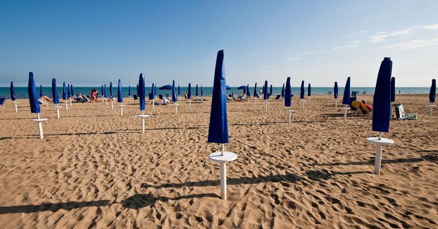 Strand in Bibione