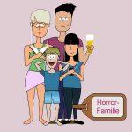 Urlaubstyp Horrorfamilie