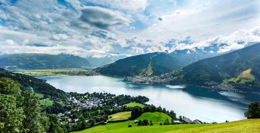 Zeller See in Österreich