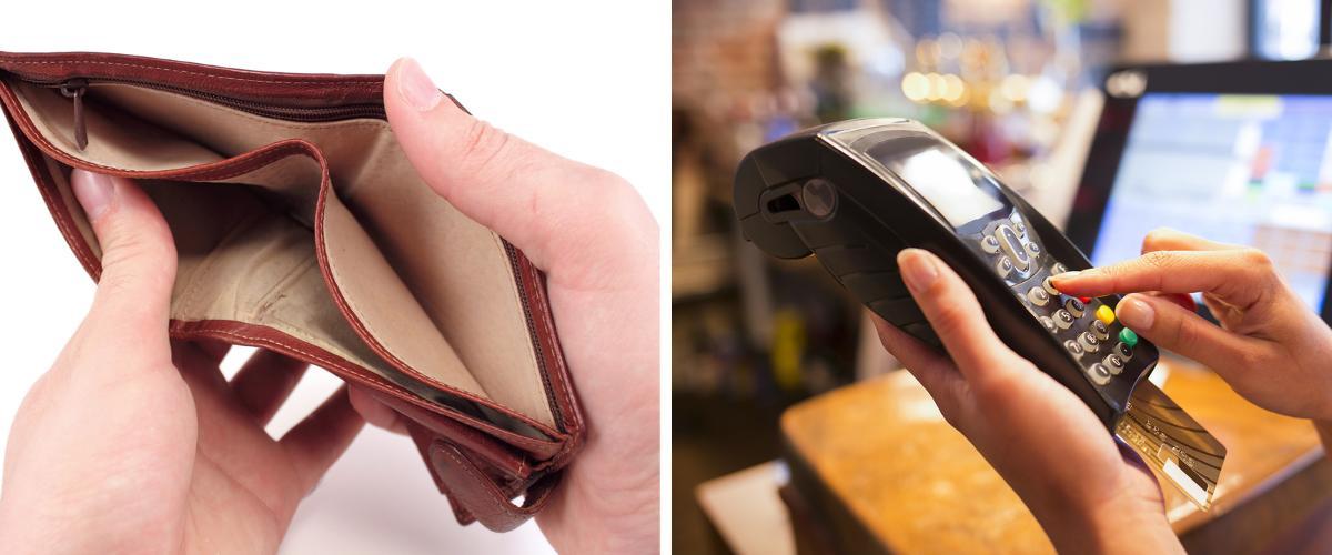Bezahlung mit Karte ist üblich.