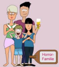 11 Urlaubstypen - Horror Familie