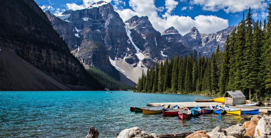 Banff Nationalparl in Kanada