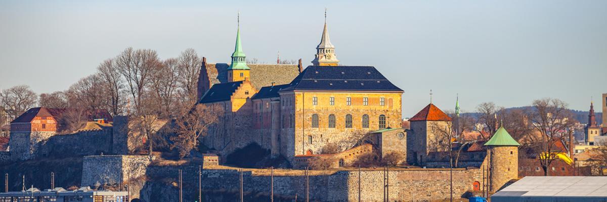 Spaziergang Festung Akershus Oslo