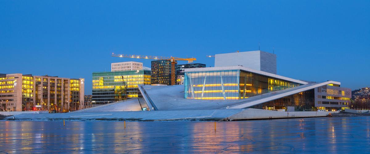 Die Oper Wahrzeichen in Oslo