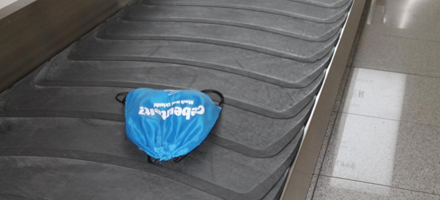Gepäck auf dem Gepäckband