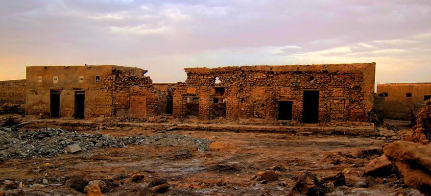 verlassene Stadt jazir Hamra