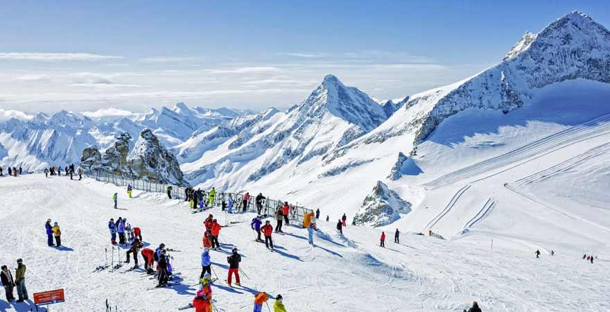 Skigebiet Zillertal in Tirol
