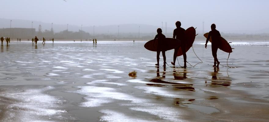 Surfer Strand Meer