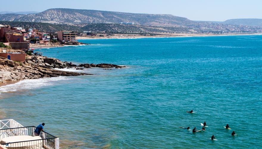 Meer Strand Surfen